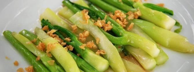 verduras fritas
