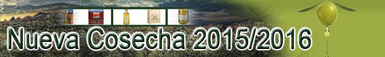 Cosecha AOVE 2015-2016