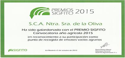 Premios SIGFITO 2015